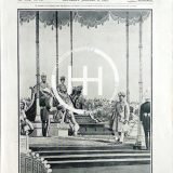 January 6 1912 - Delhi durbar Baroda paying homage