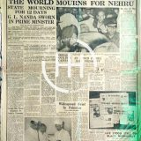 May 29 1964 - Nehru Death