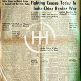 November 22 1962 - India China War Over