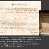 Chaplin Death Certificate