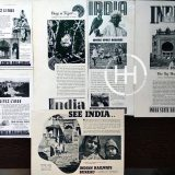 January 25 - India National Tourism Day Ads 1937